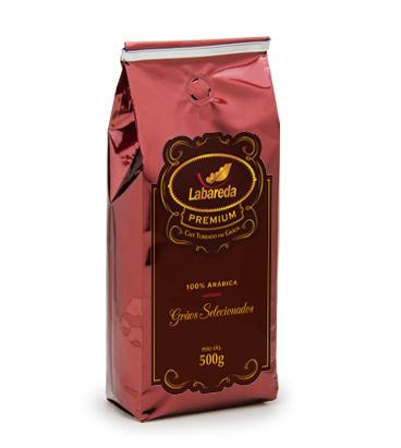 cafe labareda premium torrado em graos